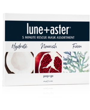 Lune+Aster 3-Pc. 5 Minute Rescue Mask Assortment Set