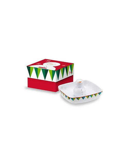 Rosanna Imports Santaland Dish - Snowman