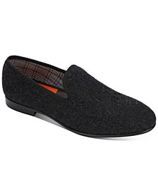 Men's Enrico Crest Wool Loafers