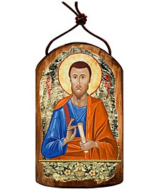 Saint Jude Wooden Greek Christian Orthodox Icon Ornament