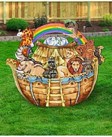Noah's Ark Wood Free Standing Garden Decor