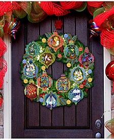 12 Days of Christmas Wreath Door Hanger
