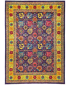 """CLOSEOUT! One of a Kind OOAK2761 Purple 9'10"""" x 13'8"""" Area Rug"""