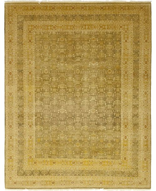 "Timeless Rug Designs CLOSEOUT! One of a Kind OOAK74 Flax 9'2"" x 11'9"" Area Rug"