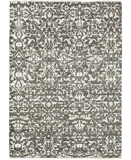 """Timeless Rug Designs CLOSEOUT! One of a Kind OOAK320 Mist 9'1"""" x 12'8"""" Area Rug"""