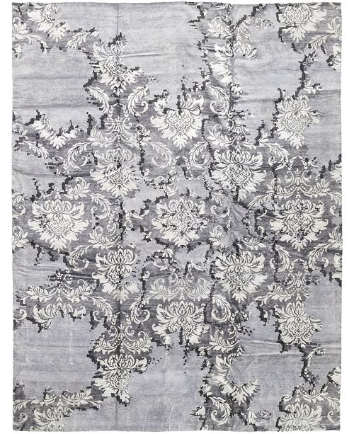 "Timeless Rug Designs CLOSEOUT! One of a Kind OOAK363 Silver 11'10"" x 15'2"" Area Rug"