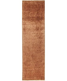 "CLOSEOUT! One of a Kind OOAK494 Chestnut 3'1"" x 11'6"" Runner Rug"