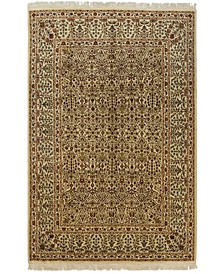 "CLOSEOUT! One of a Kind OOAK555 Cream 8'7"" x 12'3"" Area Rug"
