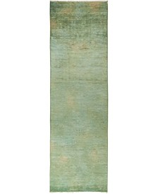 """CLOSEOUT! One of a Kind OOAK840 Mint 3'1"""" x 10'5"""" Runner Rug"""