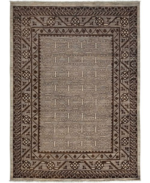 "Timeless Rug Designs CLOSEOUT! One of a Kind OOAK3475 Mist 5'9"" x 7'9"" Area Rug"