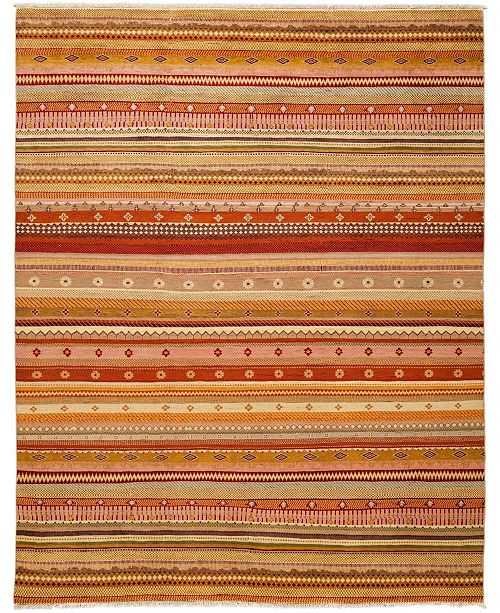 """Timeless Rug Designs CLOSEOUT! One of a Kind OOAK3323 Caramel 8' x 10'2"""" Area Rug"""
