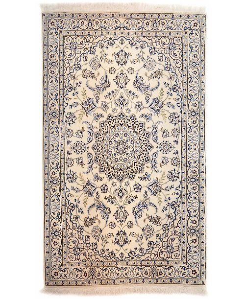 """Timeless Rug Designs CLOSEOUT! One of a Kind OOAK17 Ivory 3'9"""" x 6'2"""" Area Rug"""