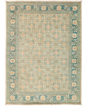 """Closeout! Timeless Rug Designs One of a Kind OOAK3034 Ivory 4'10"""" x 6'8"""" Area Rug Product Image"""