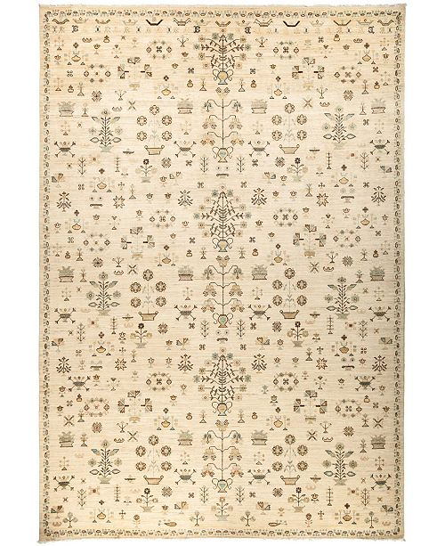 """Timeless Rug Designs CLOSEOUT! One of a Kind OOAK3021 Ivory 10'2"""" x 13'10"""" Area Rug"""