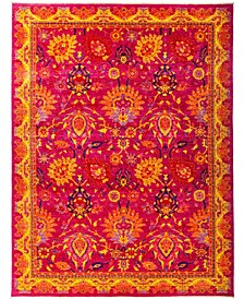 """CLOSEOUT! One of a Kind OOAK2925 Pink 8'10"""" x 11'9"""" Area Rug"""