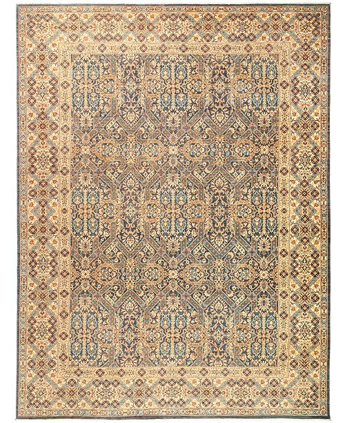 """Timeless Rug Designs CLOSEOUT! One of a Kind OOAK2918 Cream 9'1"""" x 11'10"""" Area Rug"""
