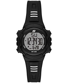 Truro Digital Plastic Watch 33MM
