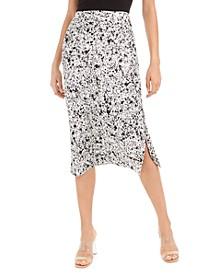 Printed Slip Midi Skirt, Created For Macy's