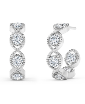 Forevermark Tribute Collection Diamond (7/8 ct. t.w.) Hoop Earrings in 18k Yellow