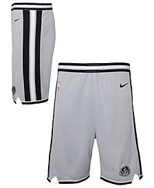 Big Boys San Antonio Spurs Statement Swingman Shorts