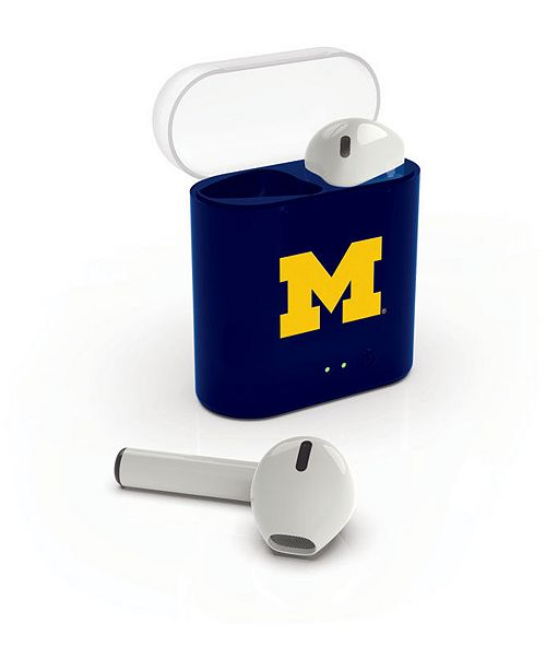 Lids Prime Brands Michigan Wolverines Wireless Earbuds