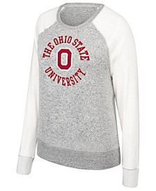 Women's Ohio State Buckeyes Off Duty Cozy Crew Sweatshirt