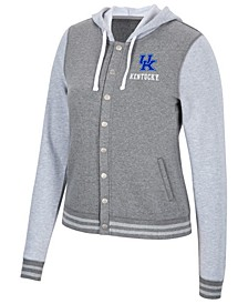 Women's Kentucky Wildcats Varsity Snap Jacket