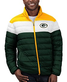 Men's Green Bay Packers Cold Front Quilted Polyfill Jacket
