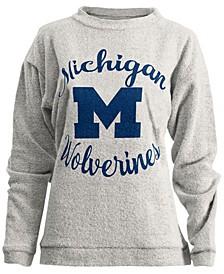 Women's Michigan Wolverines Comfy Terry Sweatshirt