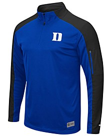 Men's Duke Blue Devils Promo Quarter-Zip Pullover