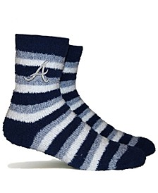 Atlanta Braves Fuzzy Steps Socks