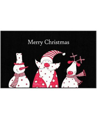 Christmas Friends Accent Rug, 18