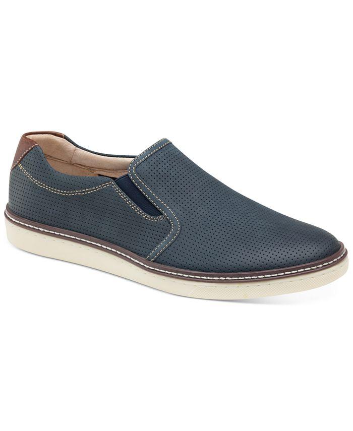 Johnston & Murphy - Men's McGuffey Perfed Slip-On Sneaker