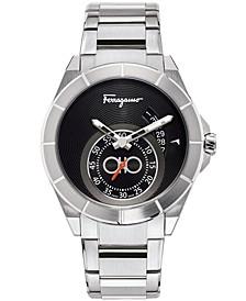 Men's Swiss Ferragamo Urban Stainless Steel Bracelet Watch 43mm