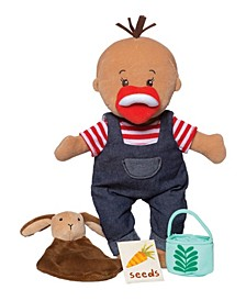 "Wee Baby Stella Tiny Farmer 12"" Soft Toy Baby Doll Set"