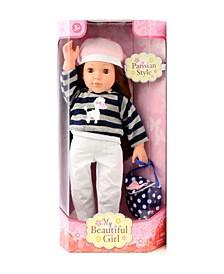 "18"" My Beautiful Girl Parisian Fashion Doll"