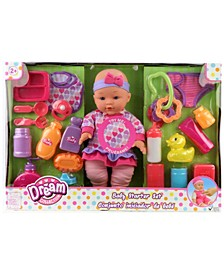 "12"" Baby Doll Care Set"
