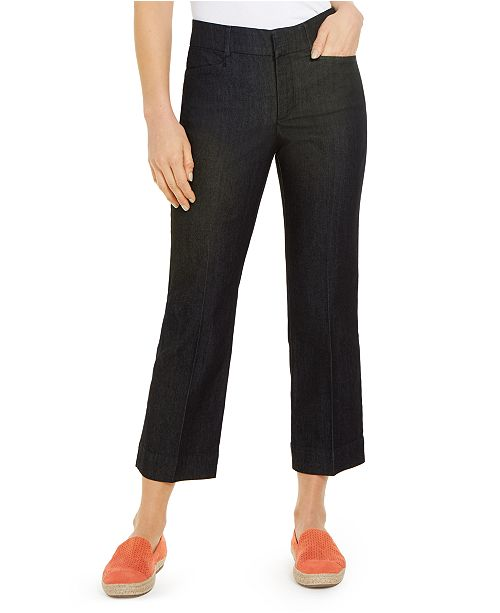 Charter Club Cropped Straight-Leg Pants, Created For Macy's
