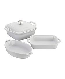 Ceramics 4-pc Mixed Baking Dish Set
