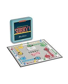 Sorry Tin Board Game Nostalgia Edition