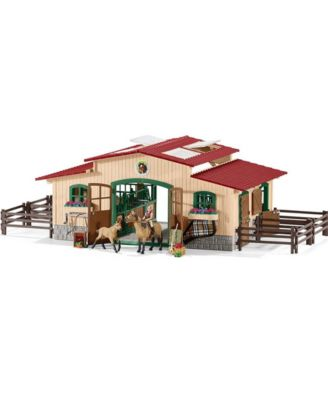 Schleich Farm World Horse Stable Set