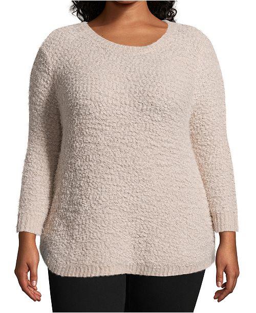 John Paul Richard Plus Size Pullover Sweater