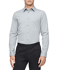 Stretch Cotton Button-Down Shirt