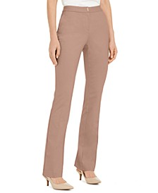 Petite Hardware-Waist Trouser Pants, Created for Macy's