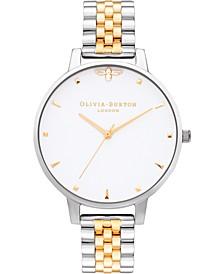 Women's Queen Bee Two-Tone Stainless Steel Bracelet Watch 38mm