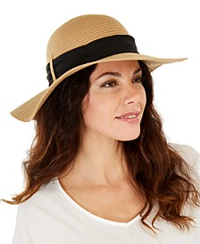 INC Roll-Up Packable Floppy Hat, Created For Macy's