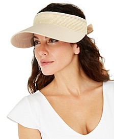 INC Tie-Back Visor, Created For Macy's