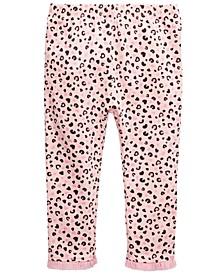 Baby Girls Tulle-Hem Leggings, Created For Macy's