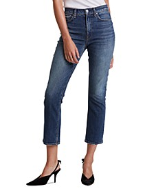 Holly Cropped Bootcut Jeans