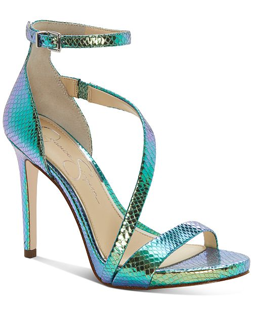 Jessica Simpson Rayli Asymetric Dress Sandals